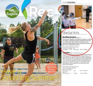 Special 8 Week Summer Program with Eugene Rec Center