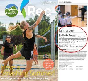 Special 8 Week Summer Program with Eugene Rec Center