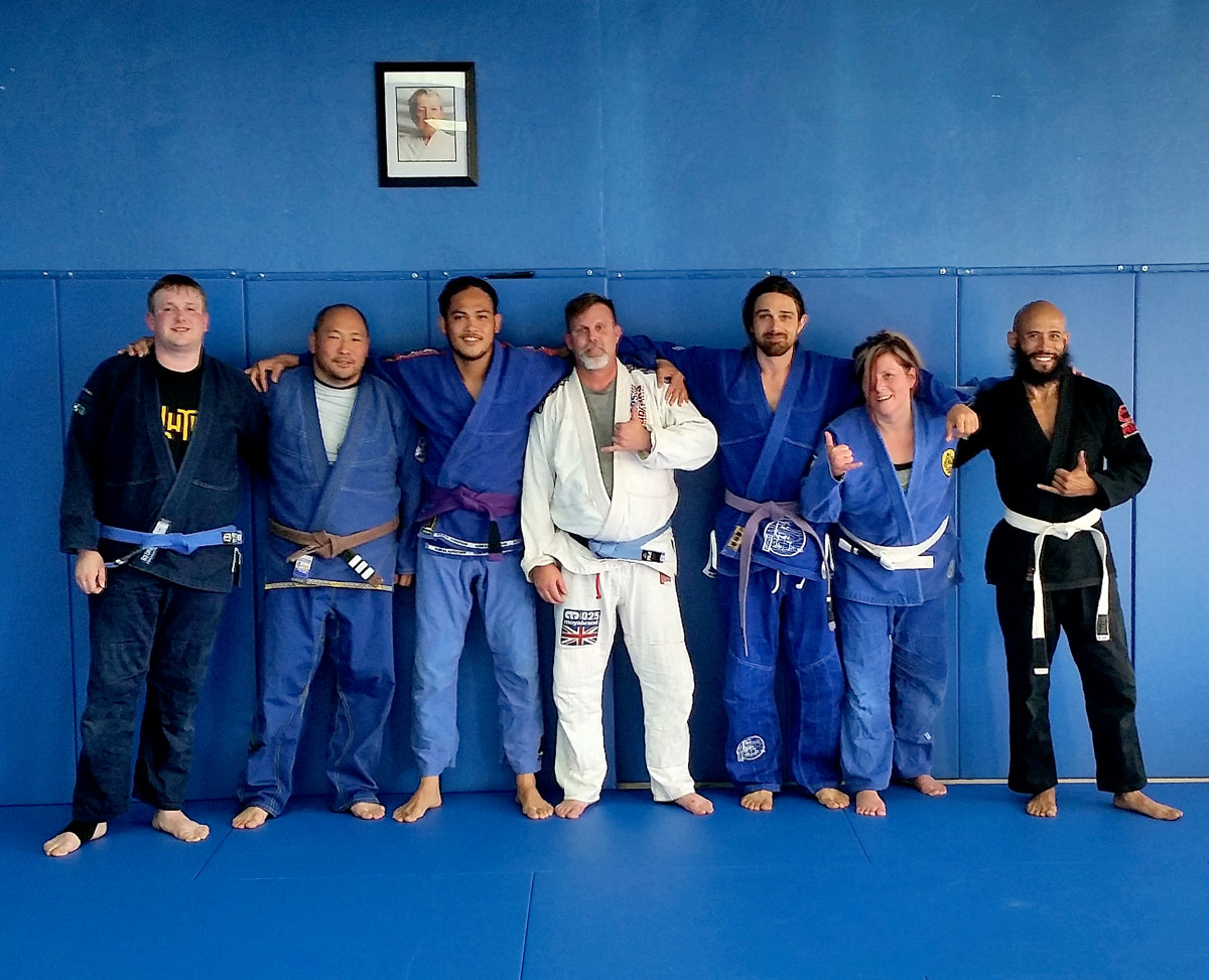 Our First BJJ Evening Class!