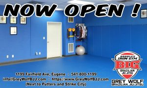 Brazilian Jiu-Jitsu Martial Arts in Eugene is Now Open!