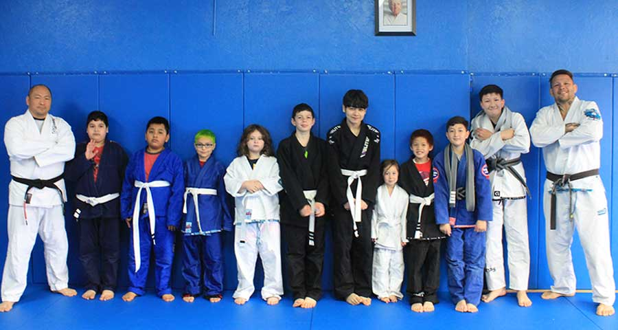 Kids BJJ Promotions with Special Guest