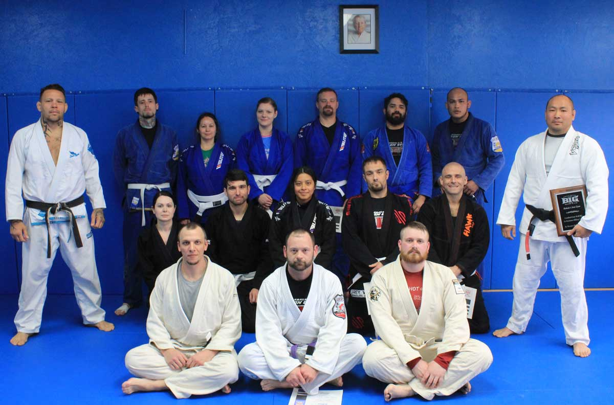 Adult BJJ Promotions with Special Guest