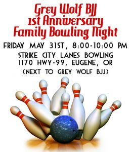 1st Anniversary Bowling Night