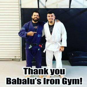 Jose visits Babalu's Iron Gym