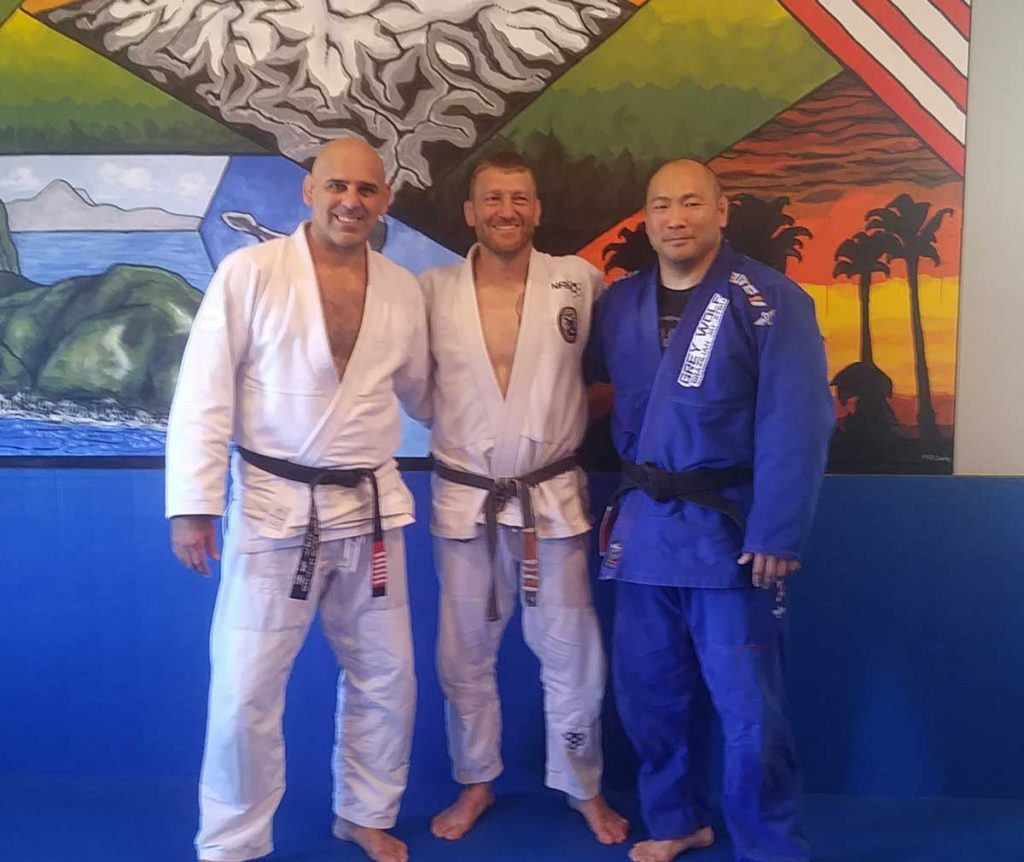 Professor Gordo Seminar at Connection Rio BJJ Black Belts
