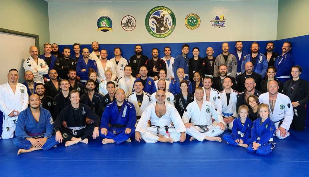 Professor Gordo Seminar at Connection Rio BJJ Group