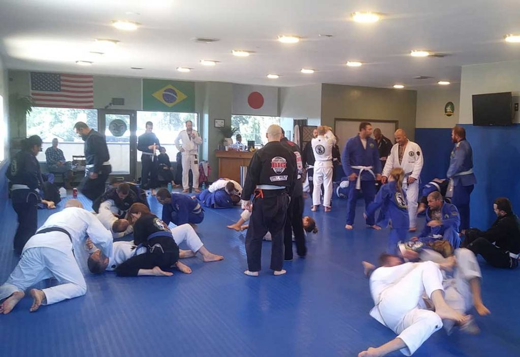 Professor Gordo Seminar at Connection Rio BJJ Seminar
