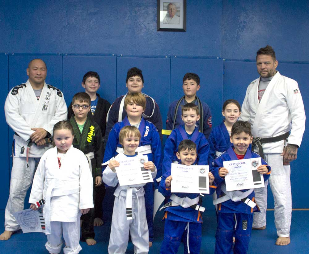 Kids BJJ Belt Ceremony and Promotions