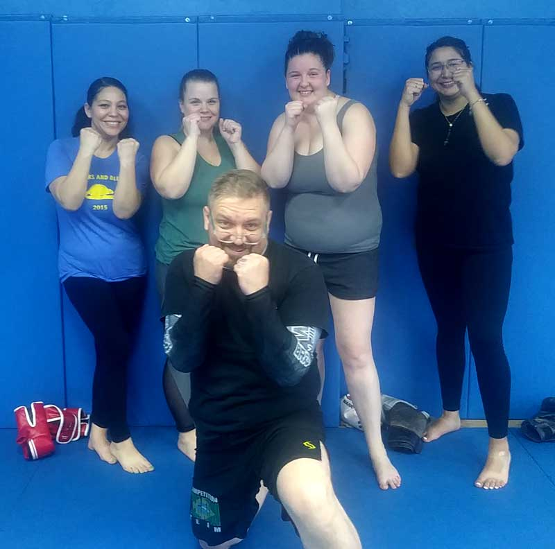 Women's Kickboxing Program